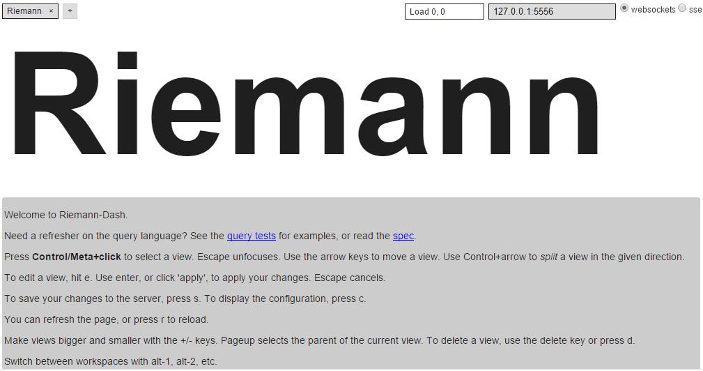 Riemann で リアルタイムイベント処理 + モニタリングする